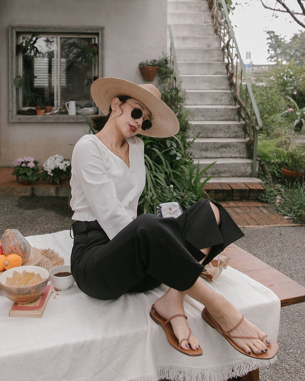 Công thức áo trắng - quần đen tưởng nhạt thếch nhưng cớ sao Hương Giang, Miranda Kerr và Joy diện vẫn sang - xịn - mịn? - Ảnh 5.