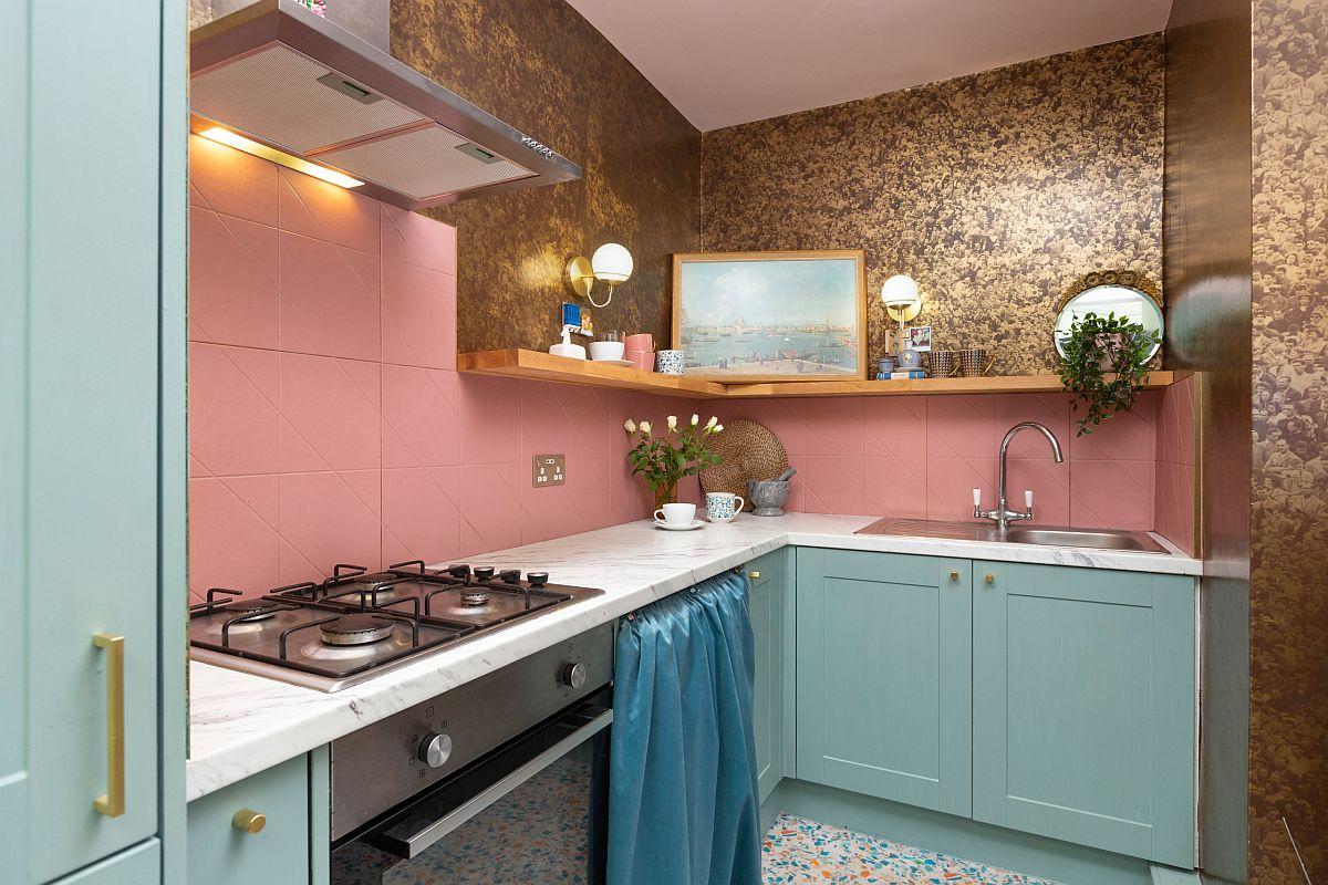 Ngắm những căn bếp nhỏ đầy màu sắc, đẹp đến mức làm xiêu lòng bất cứ ai - Ảnh 16.