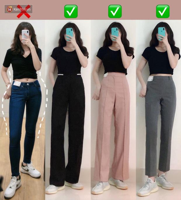Dáng thẳng đuột khi diện skinny jeans, cô nàng đã được khai sáng khi tìm ra 8 chiếc quần âu tôn dáng mà thanh lịch hết sức - Ảnh 1.