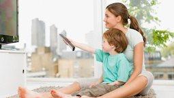 Cho trẻ xem tivi sớm và những tác hại khôn lường