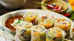 Thêm món ăn chơi bao nghiền: Bánh tráng lụi Tây Nguyên