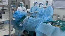 Bệnh nhân số 91 đang được chăm sóc tích cực tại phòng áp lực âm