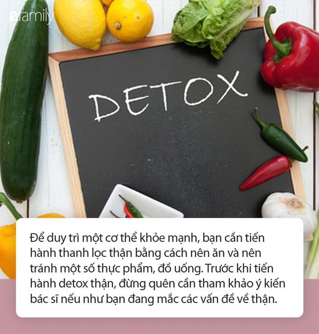 Thận vừa sạch vừa khỏe, dáng lại thon và làn da cứ sáng bừng: Tận dụng ngay thời gian này để làm đồ uống detox được chuyên gia khuyên dùng - Ảnh 1.