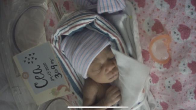 Trên đường đi đẻ thì bị tai nạn giao thông, cú va chạm đã khiến bà mẹ sinh con nhưng sau đó em bé văng đi đâu không biết - Ảnh 3.