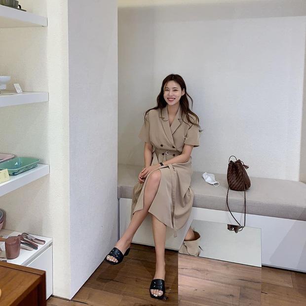 Sao phải khổ công dùng app kéo chân, chị em cứ diện kiểu váy này là cặp chân sẽ được kéo dài ảo diệu - Ảnh 11.