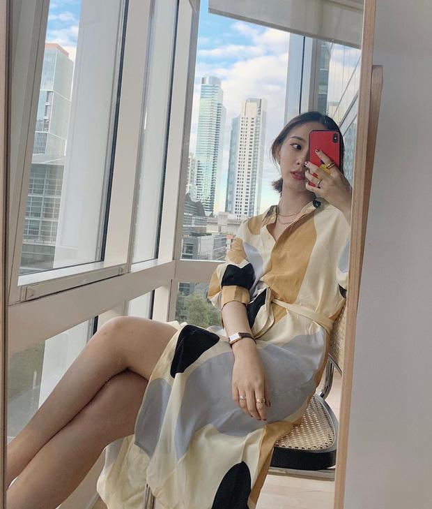 Sao phải khổ công dùng app kéo chân, chị em cứ diện kiểu váy này là cặp chân sẽ được kéo dài ảo diệu - Ảnh 12.