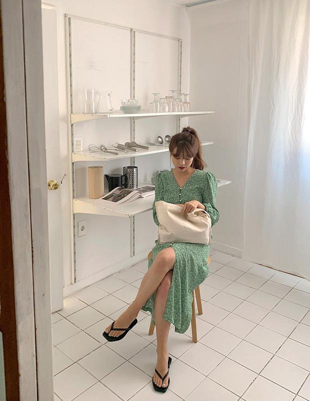 Sao phải khổ công dùng app kéo chân, chị em cứ diện kiểu váy này là cặp chân sẽ được kéo dài ảo diệu - Ảnh 8.
