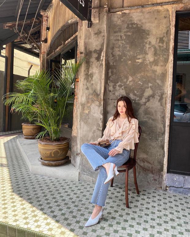 10 kiểu áo mix cùng quần ống rộng đẹp thần sầu, hè diện mát mẻ mà vẫn trendy nàng nào cũng nên copy - Ảnh 7.