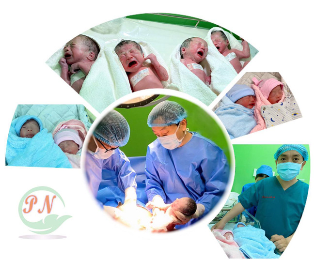 Vô sinh 3 năm, bị khối u tuyến giáp, mẹ bầu Sài Gòn 29 tuổi sinh 4 thành công tại bệnh viện Từ Dũ - Ảnh 1.