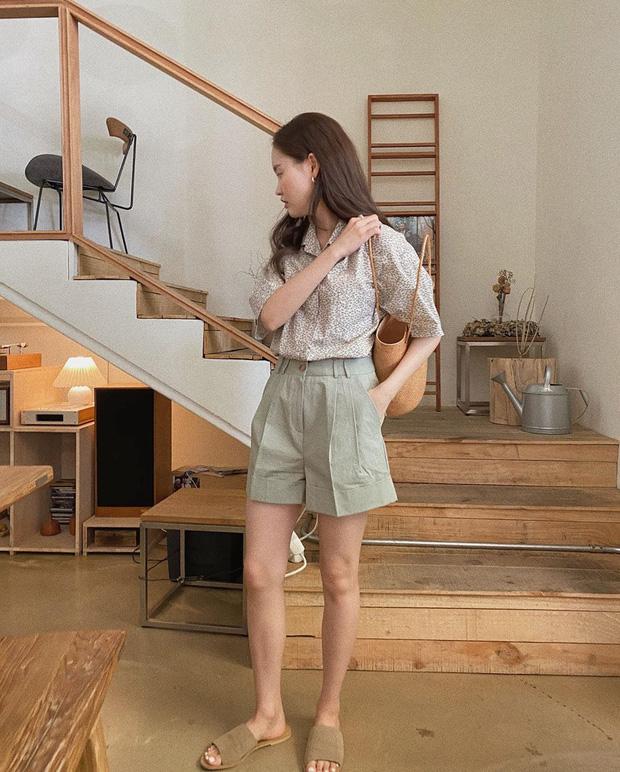 Muốn được khen sành điệu và có duyên, chị em hãy chọn quần shorts dáng rộng thay vì kiểu ngắn cũn bó chẽn thế này - Ảnh 4.