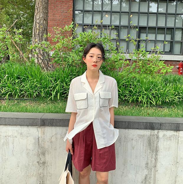 Muốn được khen sành điệu và có duyên, chị em hãy chọn quần shorts dáng rộng thay vì kiểu ngắn cũn bó chẽn thế này - Ảnh 9.