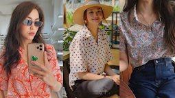 """Để Thanh Hằng và Hà Tăng chỉ cho chị em combo áo quần đã """"ăn chơi"""" còn hack tuổi diệu kỳ, xứng đáng được diện suốt Hè"""