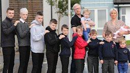 Bà mẹ sinh tới 10 cậu con trai liên tiếp chỉ để tìm kiếm một điều, tới đứa trẻ thứ 11 mới thỏa mong ước