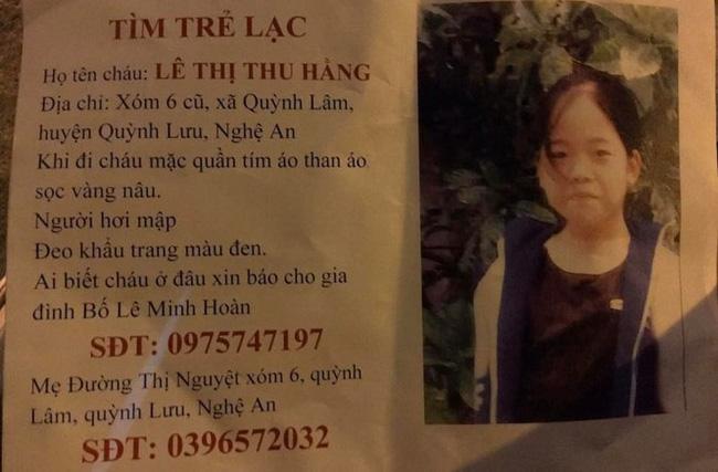 Nữ sinh Nghệ An mất tích nhiều ngày được cặp vợ chồng già ở Hà Nội cưu mang - Ảnh 1.