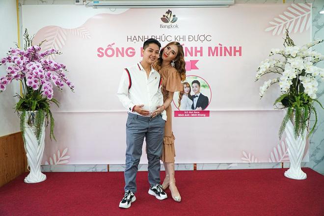 Người đàn ông mang thai, sinh con đầu tiên ở Việt Nam hé lộ hành trình mang thai kỳ lạ - Ảnh 3.