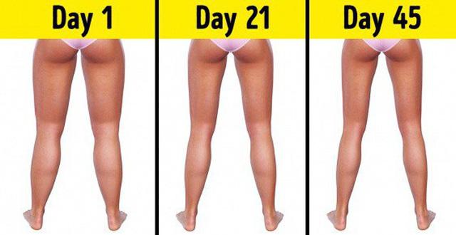 Mùa hè là phải đẹp: Cách để có đôi chân thon tròn giảm ngay 8cm chỉ trong một tháng - Ảnh 1.