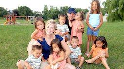 Được chẩn đoán khó có con nhưng cuối cùng bà mẹ này đã có tới 8 người con chỉ sau 2 lần mang thai