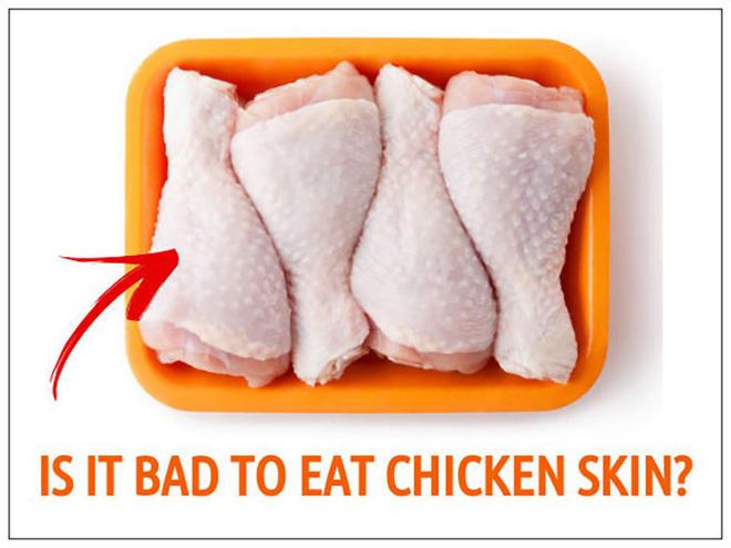 Ăn da gà có hại cho sức khoẻ? - Ảnh 1.