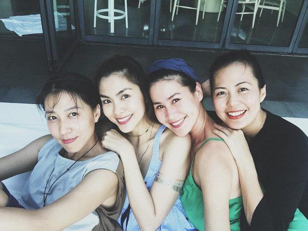 Hội bạn thân 10 năm showbiz tụ họp: Nhan sắc hậu tăng cân của Hà Tăng chiếm spotlight, càng nhìn càng hút hồn - Ảnh 3.