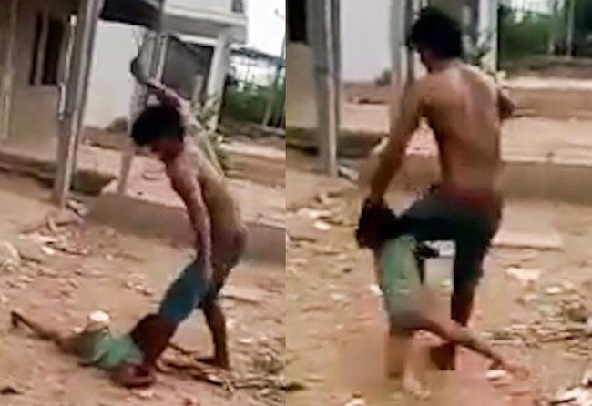 Lời khai của người cha đánh đập dã man, tung chân đạp con gái nhỏ bay xa 2 mét ở Sóc Trăng - Ảnh 2.
