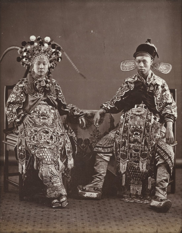 Loạt ảnh triều nhà Thanh nửa cuối thế kỷ 19: Khoảng cách giữa giới thượng lưu, trung lưu và bình dân khiến người xem phải ngỡ ngàng - Ảnh 5.