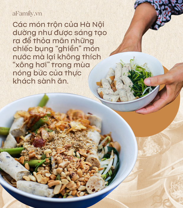 Món trộn - biến tấu ẩm thực thú vị của Hà Nội, càng nắng nóng, càng lắm người mê - Ảnh 1.