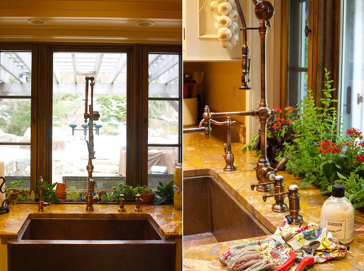 Những ý tưởng siêu hữu ích tạo góc xanh đẹp mắt với đủ loại cây gia vị và thảo mộc cho góc bếp thêm tươi mát chào hè - Ảnh 5.