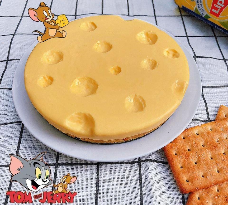 Bỏ túi cách làm bánh phomai Tom Jerry thần thánh - Hình ảnh