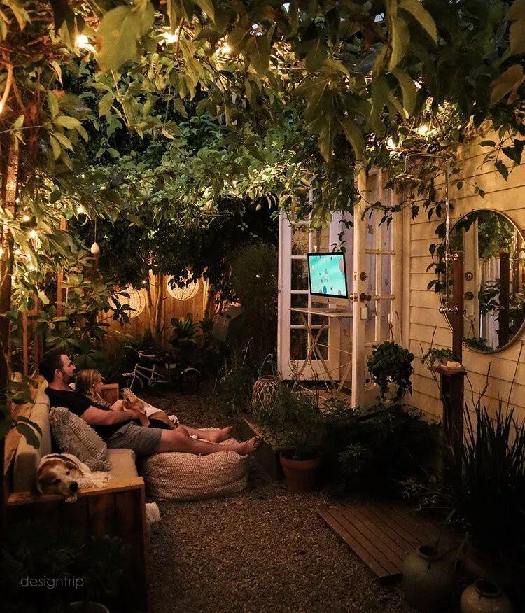 Gợi ý trang trí sân nhà thành góc tận hưởng mùa hè thú vị - Ảnh 15.