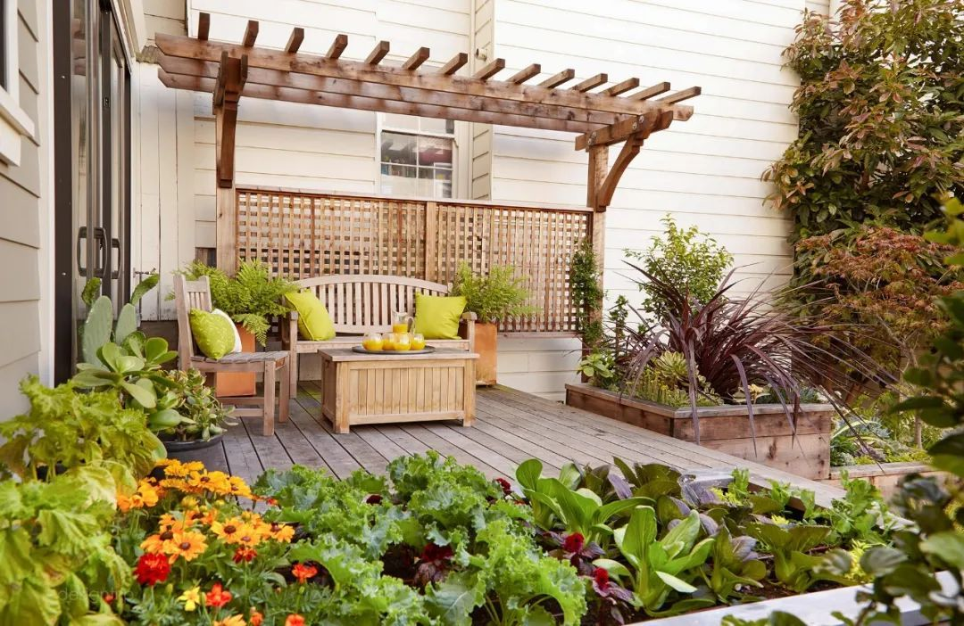 Gợi ý trang trí sân nhà thành góc tận hưởng mùa hè thú vị - Ảnh 12.