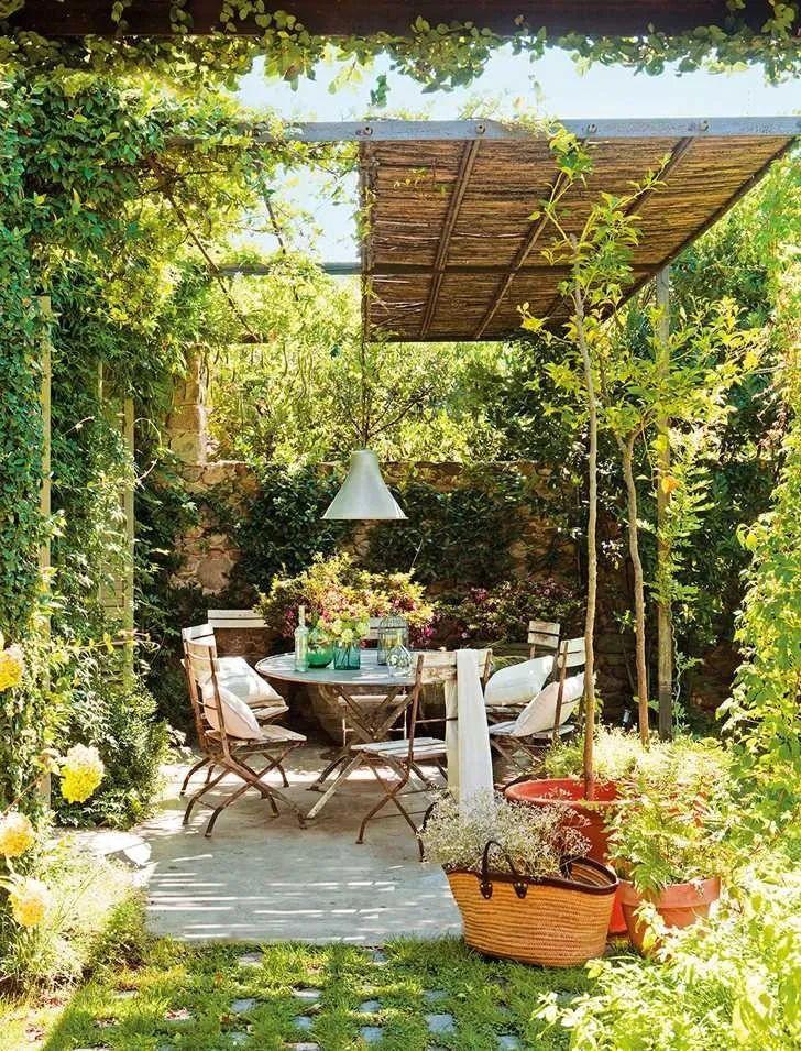 Gợi ý trang trí sân nhà thành góc tận hưởng mùa hè thú vị - Ảnh 8.