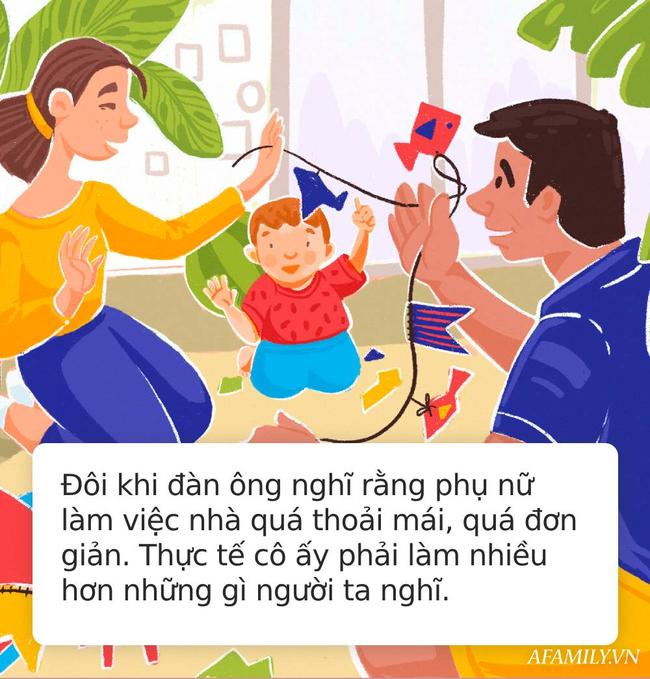 Bức thư bố gửi con trai trước đêm kết hôn: Người chồng tốt là người luôn biết cách giúp vợ làm việc nhà! - Ảnh 3.