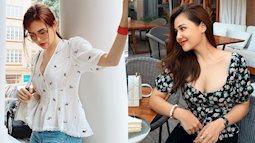 Phanh Lee có 10 cách diện áo blouse cực khéo, chị em học theo thì đi làm hay đi chơi cũng được khen mặc đẹp