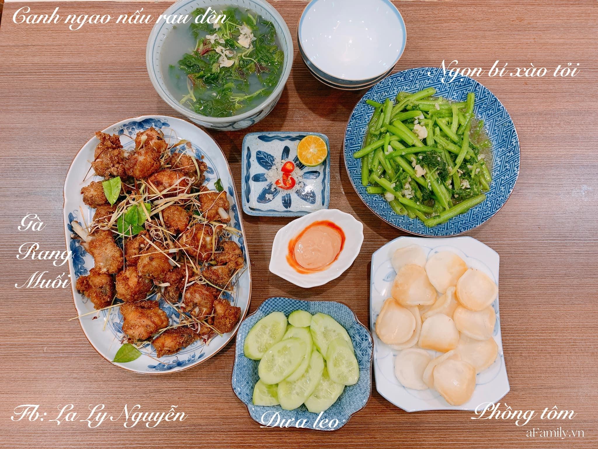 Sống giữa lòng thủ đô Hà Nội, mẹ đảm vẫn thoải mái nấu cho gia đình những mâm cơm ngon bổ rẻ, chi phí tiết lộ chỉ 70K/bữa khiến chị em ầm ầm học theo - Ảnh 4.