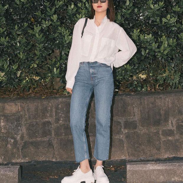 Nàng fashion blogger gợi ý 9 set đồ trung tính để chị em công sở dù vụng về vẫn mặc đẹp khỏi nghĩ - Ảnh 6.