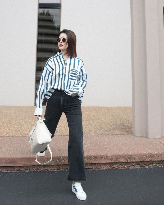 Nàng fashion blogger gợi ý 9 set đồ trung tính để chị em công sở dù vụng về vẫn mặc đẹp khỏi nghĩ - Ảnh 7.