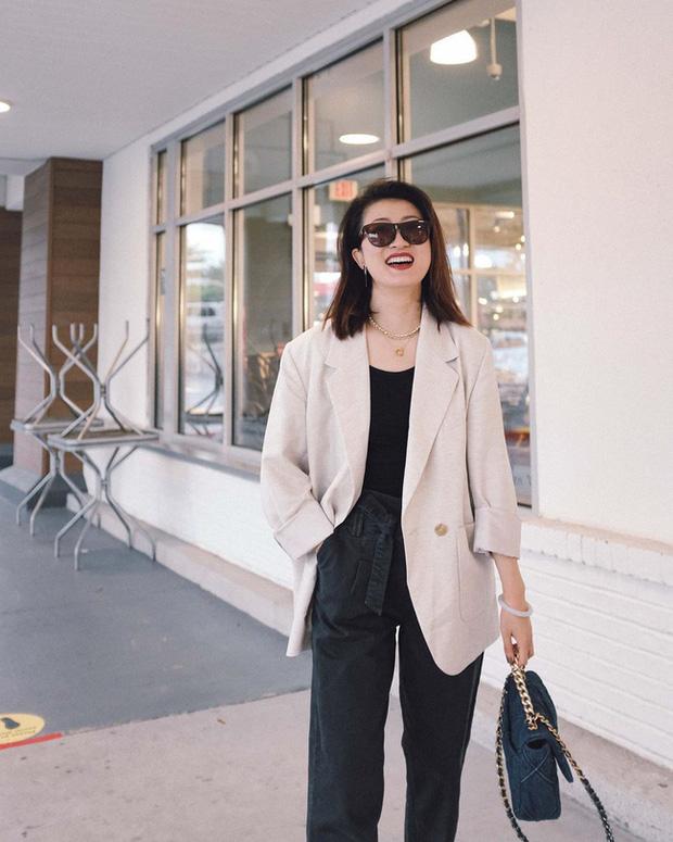 Nàng fashion blogger gợi ý 9 set đồ trung tính để chị em công sở dù vụng về vẫn mặc đẹp khỏi nghĩ - Ảnh 8.
