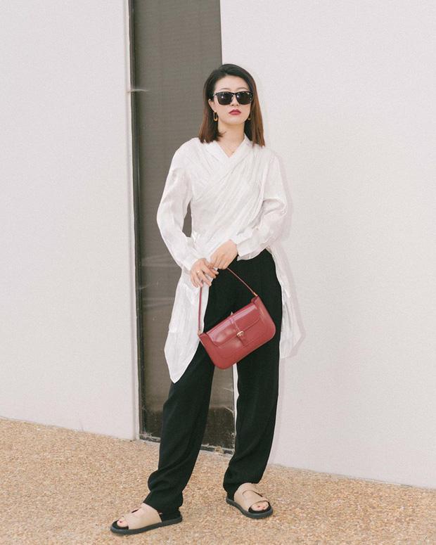 Nàng fashion blogger gợi ý 9 set đồ trung tính để chị em công sở dù vụng về vẫn mặc đẹp khỏi nghĩ - Ảnh 9.