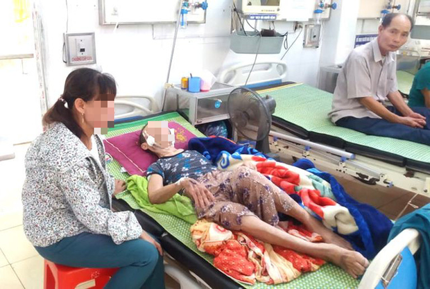 Hải Dương: Đau lòng con trai đánh mẹ già 84 tuổi bại liệt phải nhập viện cấp cứu  - Ảnh 3.