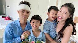 Vợ Đăng Khôi khóc nức nở khi chồng phải phẫu thuật trong 3,5 tiếng