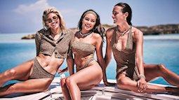 Say đắm sắc vóc tuyệt mỹ của ba mỹ nhân áo tắm trên biển