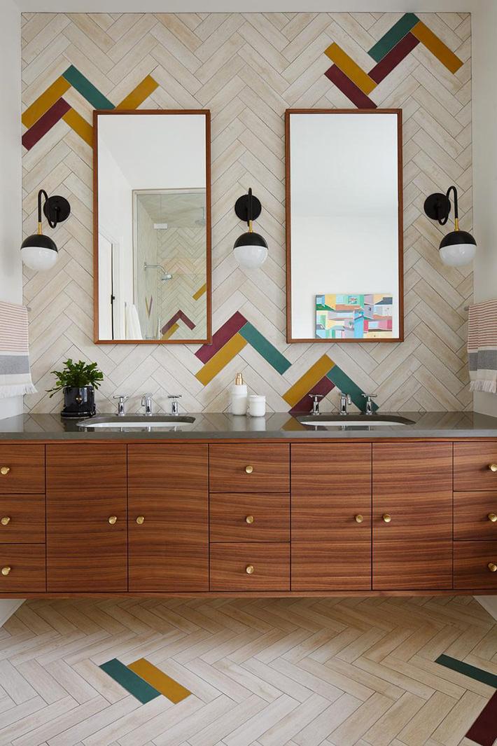 Những căn phòng tắm bằng gỗ khiến bạn chẳng thể nào làm ngơ - Ảnh 1.