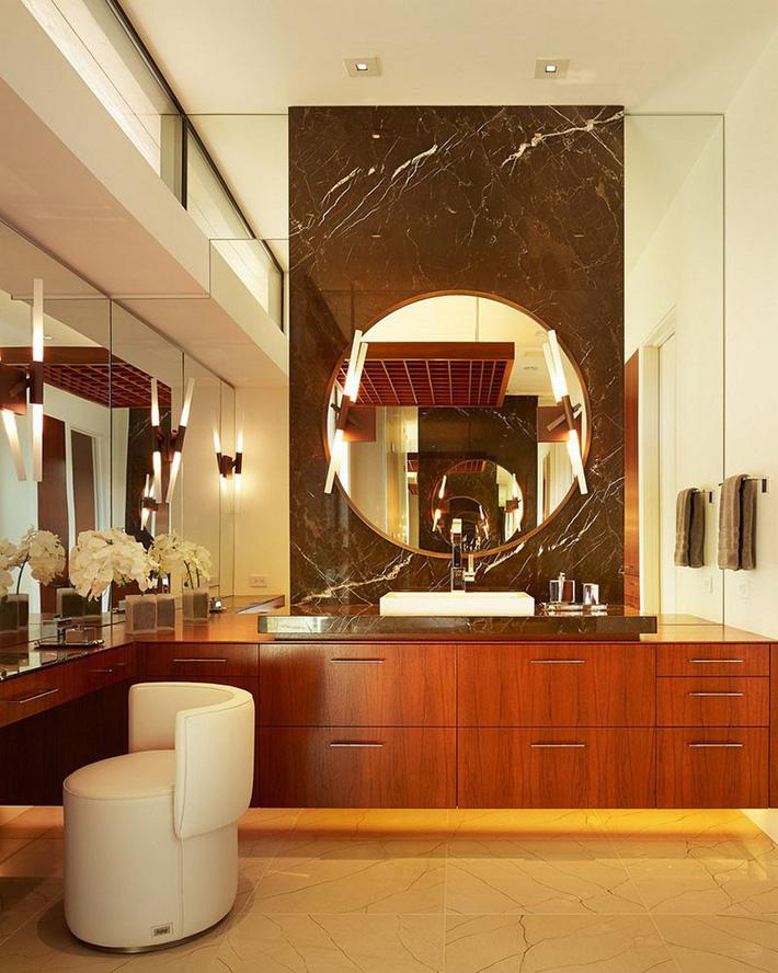 Những căn phòng tắm bằng gỗ khiến bạn chẳng thể nào làm ngơ - Ảnh 2.