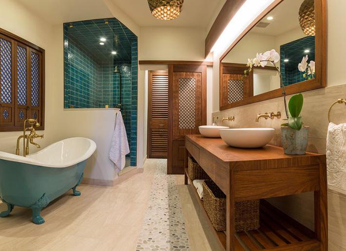 Những căn phòng tắm bằng gỗ khiến bạn chẳng thể nào làm ngơ - Ảnh 5.