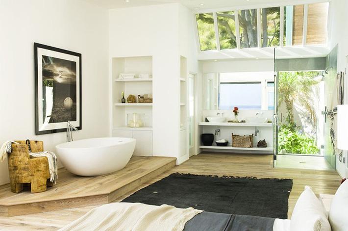 Những căn phòng tắm bằng gỗ khiến bạn chẳng thể nào làm ngơ - Ảnh 10.