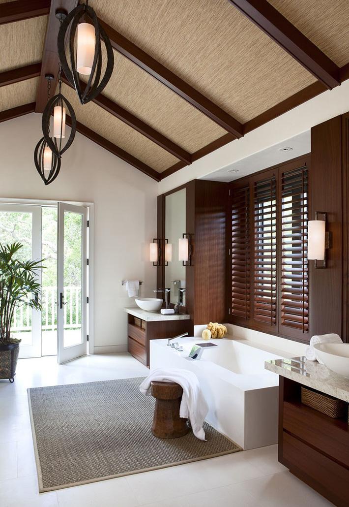 Những căn phòng tắm bằng gỗ khiến bạn chẳng thể nào làm ngơ - Ảnh 11.