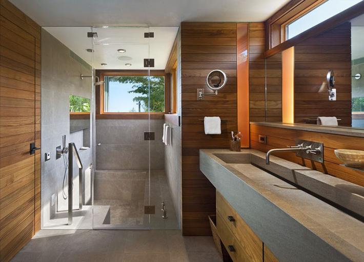 Những căn phòng tắm bằng gỗ khiến bạn chẳng thể nào làm ngơ - Ảnh 12.