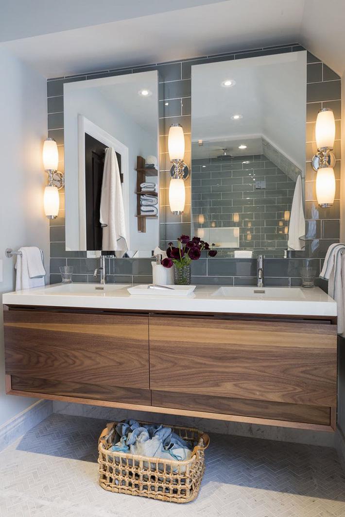 Những căn phòng tắm bằng gỗ khiến bạn chẳng thể nào làm ngơ - Ảnh 13.