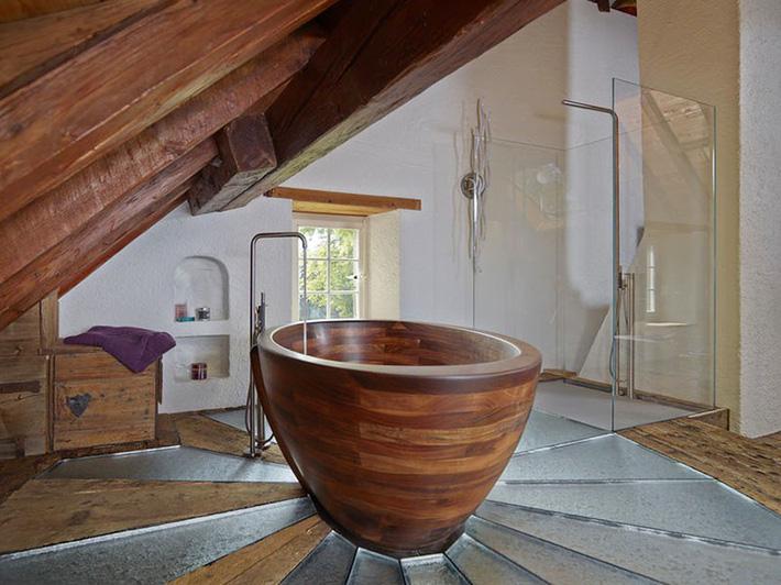 Những căn phòng tắm bằng gỗ khiến bạn chẳng thể nào làm ngơ - Ảnh 17.