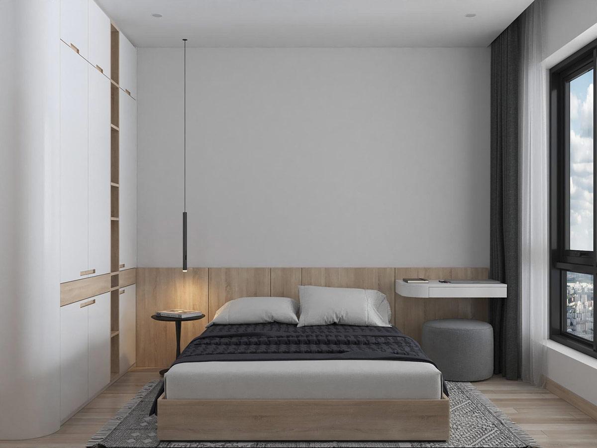 Tư vấn thiết kế nhà cấp 4 diện tích 65m² một tầng 3 phòng ngủ với chi phí 70 triệu đồng - Ảnh 7.